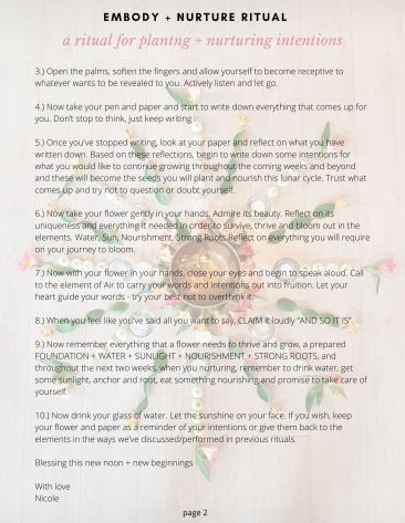 New moon Ritual for planting and nurturing intentions (1)